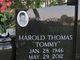 "Profile photo:  Harold Thomas ""Tommy"" Adams"