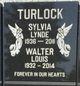 Sylvia Lynde <I>Watson</I> Turlock