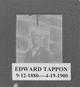 """Edward C. """"Eddie"""" Tappon"""