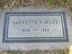Harriette Hiberta <I>Marsh</I> Miles