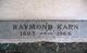 Raymond Karn Robertson