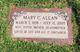 Profile photo:  Mary C. Allan