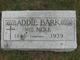 Addie Bark