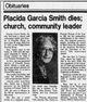 Placida Elvira <I>Garcia</I> Smith