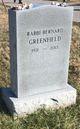 Rabbi Bernard Greenfield