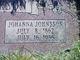 Johanna <I>Johnson</I> Erickson