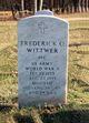 Frederick O Wittwer