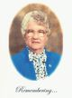 Profile photo:  Beatrice F. <I>Robertson</I> Currie