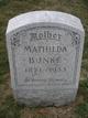 Mathilda Wilhelmine  Maria <I>Nell</I> Bunke