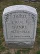 Paul Frederick Bunke