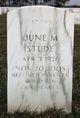 June M <I>Timreck</I> Stude