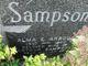 Alma E <I>Arbour</I> Sampson
