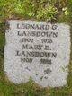 Leonard G Lansdown