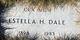 """Estella Fern """"Stella"""" <I>King</I> Dale"""