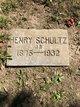 Henry Schultz Jr.