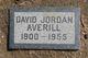 Profile photo:  David Jordon Averill