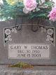 Gary W. Thomas