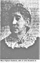 Profile photo:  Mary <I>Higham</I> Bostwick