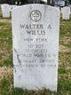 1st Sgt Walter A Willis