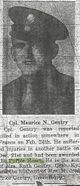 Tec5 Maurice Norman Gentry
