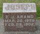 Profile photo:  F. Joseph Arand