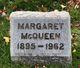 Margaret J McQueen