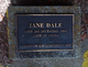 Jane Dale