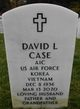 Profile photo:  David Lee Case
