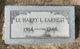 Profile photo: Lt Harry Leonard Earnest