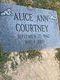 Alice Ann Courtney