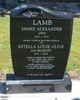 "Profile photo:  James Alexander ""Jim"" Lamb"