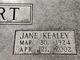 Jane M. <I>Kealey</I> Postert