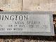 Anna Louise <I>Spilker</I> Bennington