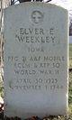 PFC Elver E Weekley
