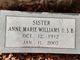 Anne Marie Williams