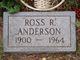 Profile photo:  Ross R. Anderson