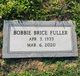 Bobbie <I>Brice</I> Fuller