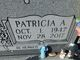 Profile photo:  Patricia A <I>Floyd</I> Glenn