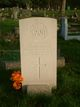 Second Lieutenant Colin George Hamilton