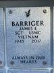 """James Edward """"Jim"""" Barriger"""