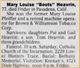 """Mary Louise """"Boots"""" <I>Pfeiffer</I> Heavrin"""