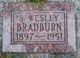 Samuel Wesley Bradburn