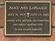 Alice Ann LaPrairie