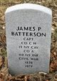 Profile photo:  James P. Batterson