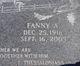 Profile photo:  Fanny A <I>Baraga</I> Abraham