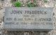 Profile photo:  John Frederick Arnold