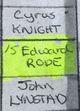 Edward Rode