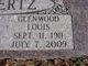"Glenwood Louis ""Glen"" Schertz"