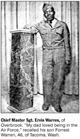 CMSAF Ervin Warren
