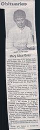 Mary Alice <I>Jackson</I> Briggs-Grey